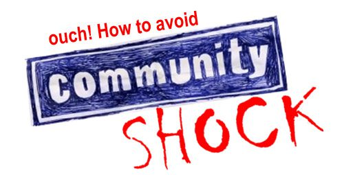 How To Avoid Community SHock graphic on Curatti