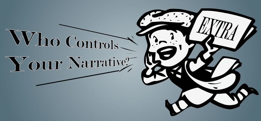 Social Media allows for you to control your story