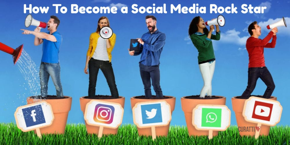How To Become a Social Media Rock Star