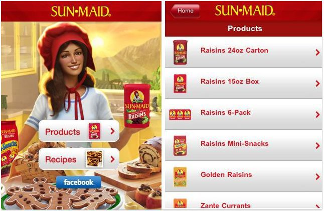 Mobile Optimization Sunmaid