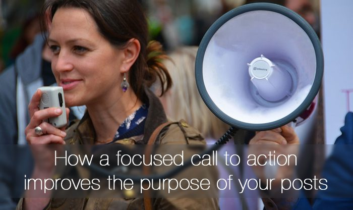 focused call to action