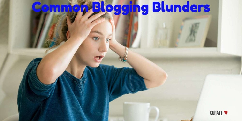 Common Blogging Blunders