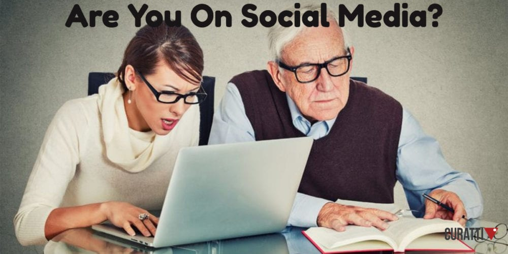 Are you on Social Media today?