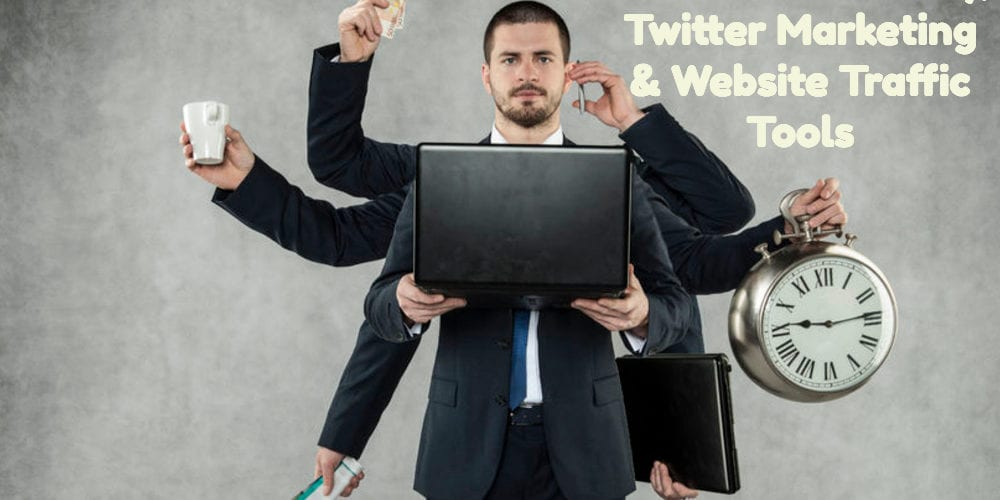 Business Efficiency, Twitter Marketing & Website Traffic Tools