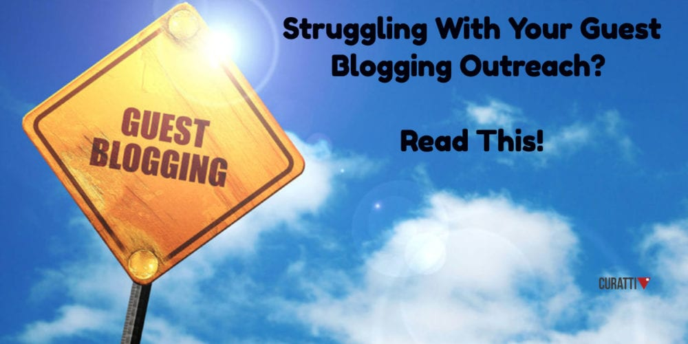 Guest Blogging outreach