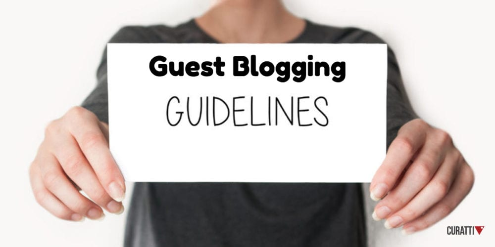 Guest Blogging Guidelines