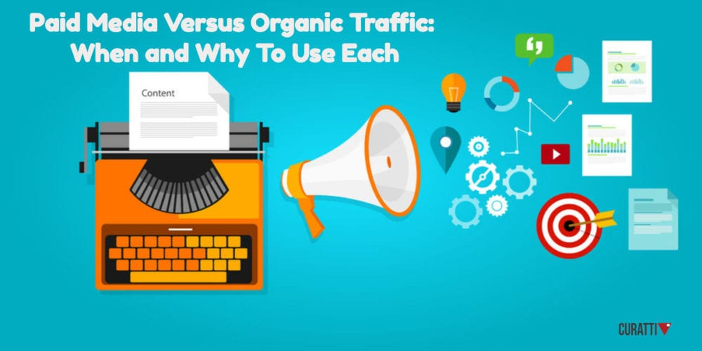 Paid Media Versus Organic Traffic – When and Why To Use Each