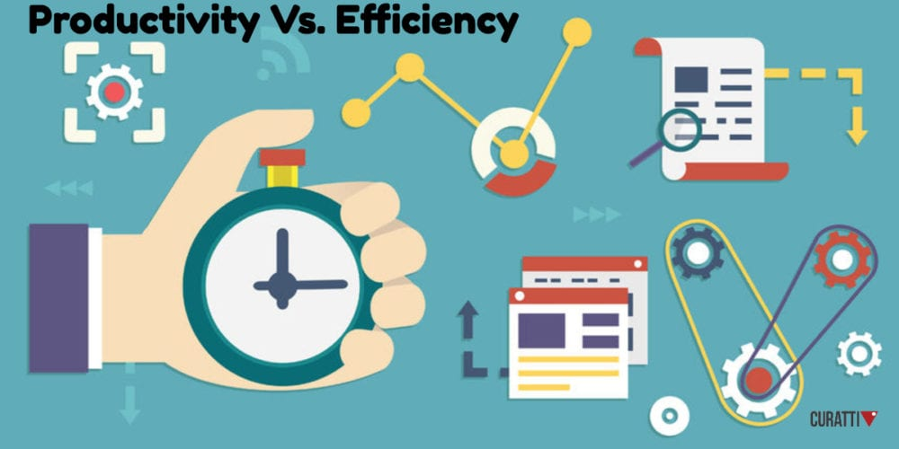 Productivity Vs. Efficiency