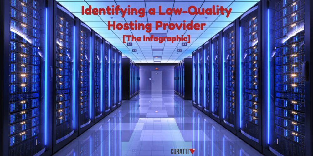 Identifying A Low-Quality Hosting Provider
