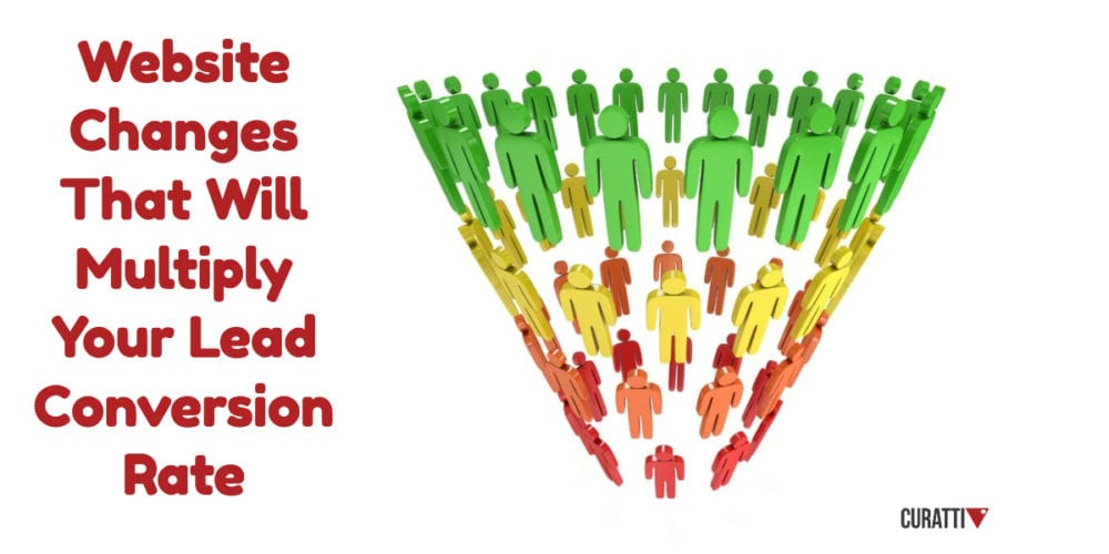 Website Changes That Will Multiply Your Lead Conversion Rate