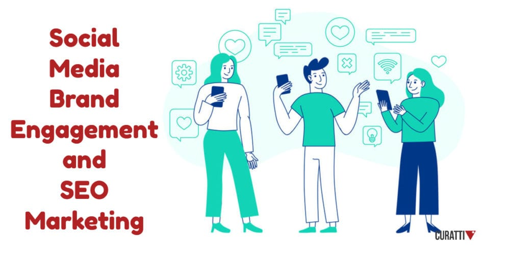 Social Media Brand Engagement and SEO Marketing