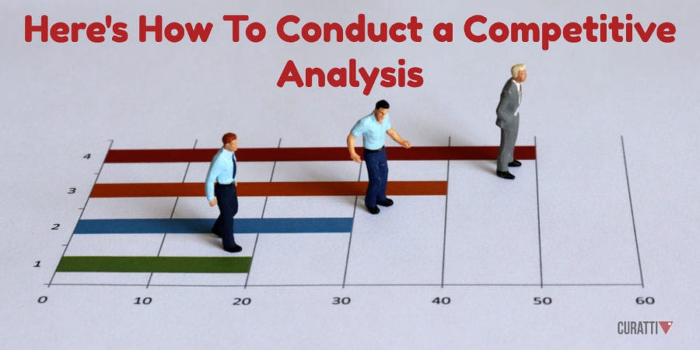 Here's How To Conduct a Competitive Analysis in Marketing