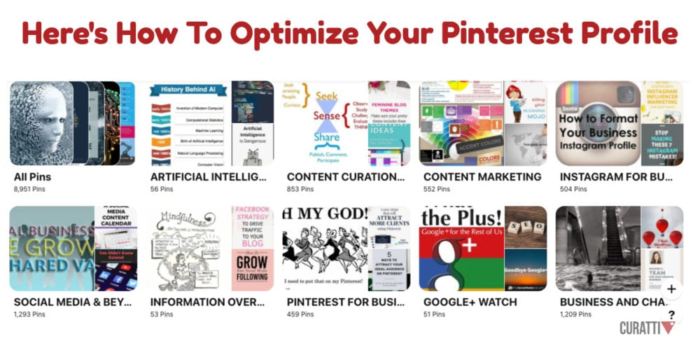 Here's How To Optimize Your Pinterest Profile