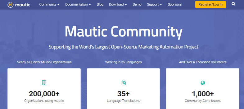 Mautic - Marketing Automation Platform